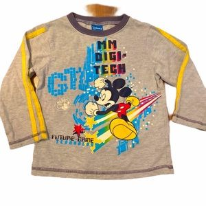 ✨3 for $30✨Disney Mickey Mouse Boys Tee Size 4T